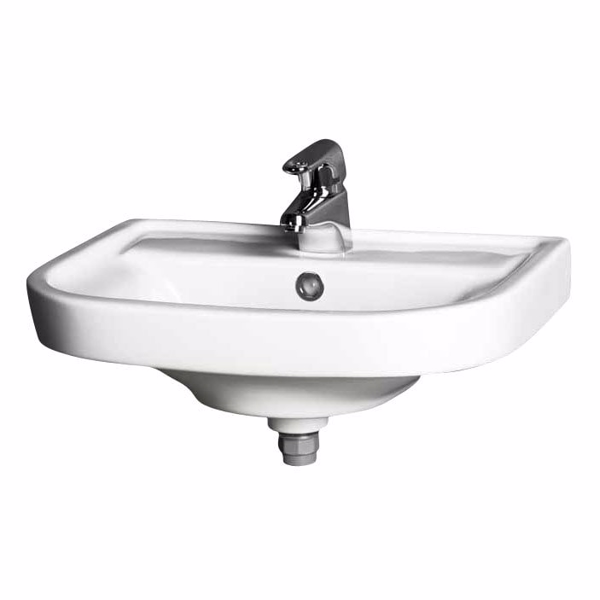 Gustavsberg hvid håndvask Nordic 2560 56x41,5 cm