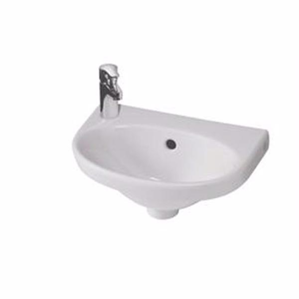 Gustavsberg 5540 Nautic håndvask 40x27,5 cm, hanehul til venstre
