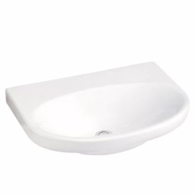 Gustavsberg Nautic håndvask 5556. 560x430 mm. Til bolte/bæringer. Hvid