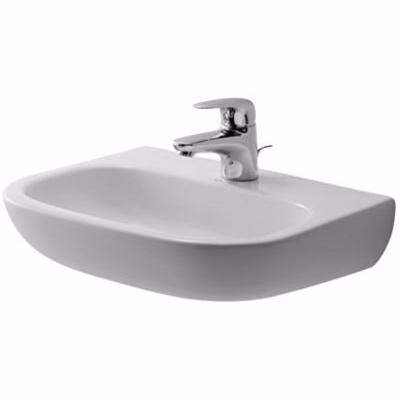 Image of   Duravit D-Code håndvask 450x340 mm medicinal uden hanehul og overløb