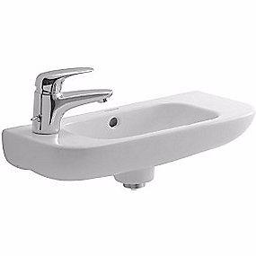 Image of   Duravit D-code håndvask 500x220 mm. Hanehul i venstre side