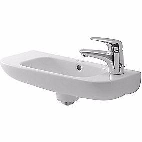 Image of   Duravit D-code håndvask 500x220 mm. Hanehul i højre side