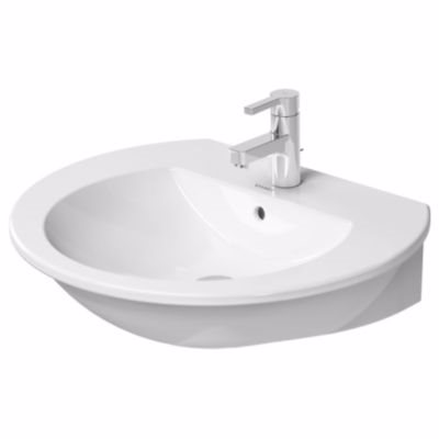 Image of   Duravit Darling New håndvask, 650x540 mm, med Wondergliss