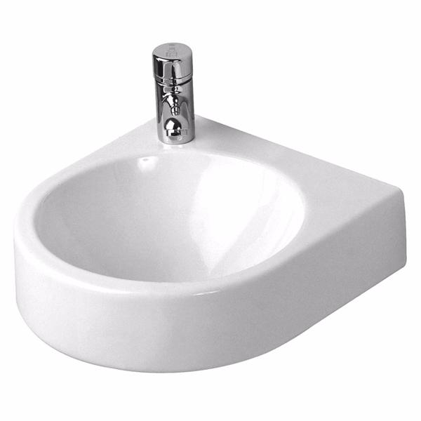 Image of   Duravit Architec håndvask, 360x380 mm, uden hanehul