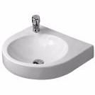 Image of   Duravit Architec håndvask, 575x520 mm, med overløb