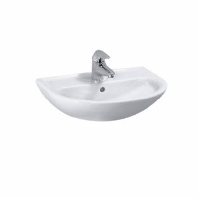 Laufen Pro B håndvask 450x330mm med hanehul midt hvid porcelæn
