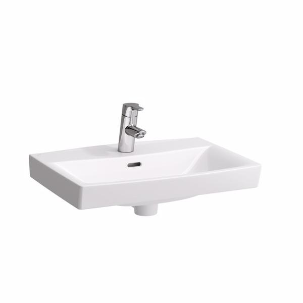 Laufen pro-n vask 560x420 mm til bæringer & bolt, hvid