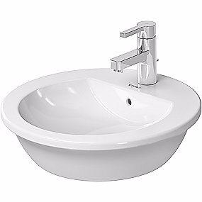 Image of   Duravit Darling New vask til bord Ø47 med overløb og hanehul