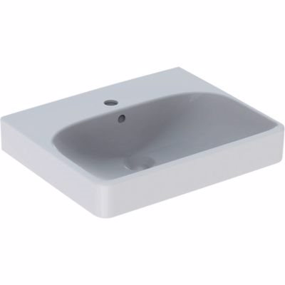 Billede af Geberit SMYLE håndvask 500x160x410mm til møbel/bolt hvid