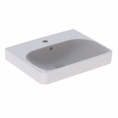 Billede af Geberit SMYLE håndvask 550x165x440mm til møbel/bolt hvid
