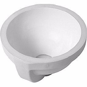 Image of   Duravit Architec håndvask, Ø270 mm, til underlimning