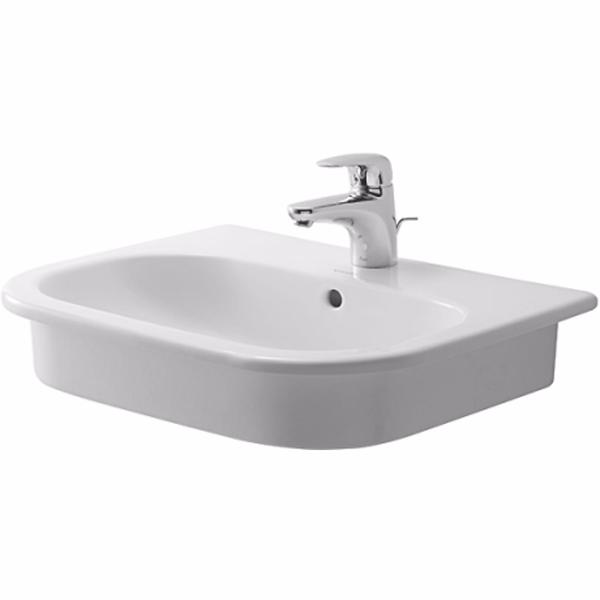 Image of   Duravit D-code håndvask, 545x435 mm, nedfældning