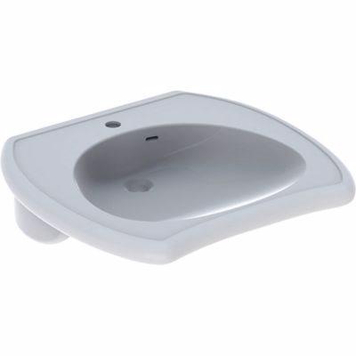 Billede af Geberit VITALIS håndvask 650x600x150mm til bolte hvid