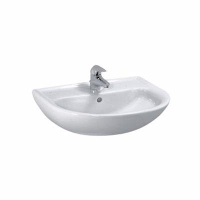 Laufen Pro håndvask 600x480mm med hanehul uden overløb hvid porcelæn