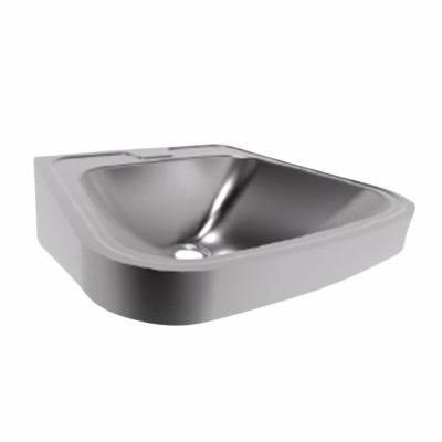 Image of   CMA Fraju håndvask 540 x 480 mm. Rustfrit stål