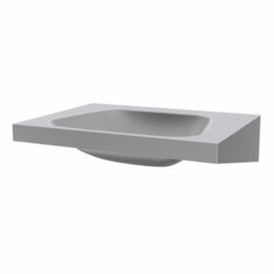 Image of   CMA Trapez håndvask 600 x 505 mm. Rustfrit stål