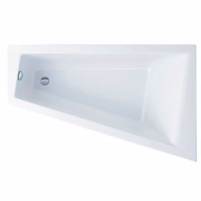 Image of   Ifö Acryllic badekar 1600 mm, asymmetrisk højre