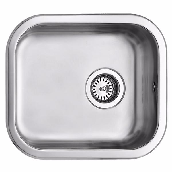 Uni køkkenvask 34x40 køkkenvask 340x400 mm med strainer