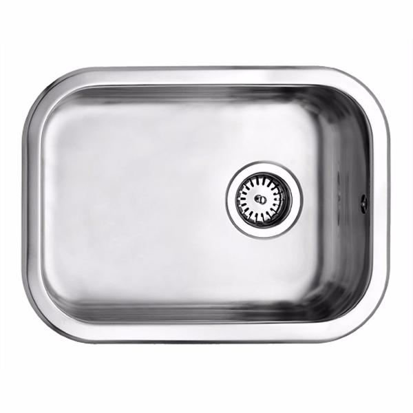 Uni køkkenvask 34x48 køkkenvask 340x480 mm mat med strainer