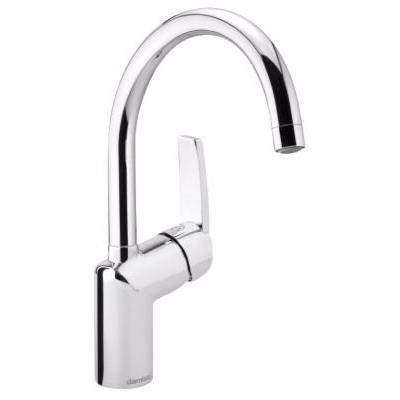 Image of   Damixa Slate håndvaskarmatur xc med base, rubclean. Krom