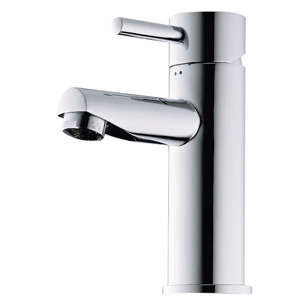 Image of   Børma A1 Håndvaskarmatur stainless look 1-grebs uden bundventil