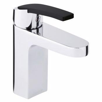 Billede af Damixa slate håndvaskarmatur krom/sort