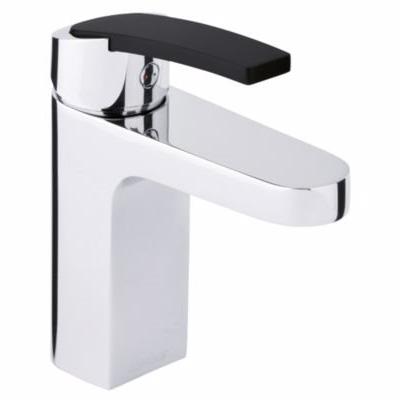Image of   Damixa slate håndvaskarmatur xc med base. Sort håndtag