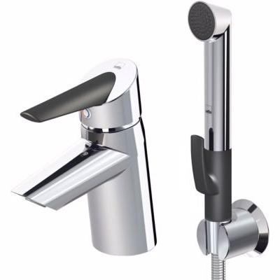 Billede af Oras Optima håndvaskarmatur med bidetta håndbruser