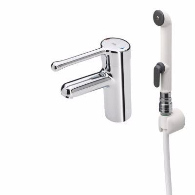 Billede af Oras Medipro Håndvaskarmatur solidt pin-greb, speciel coded flexslanger
