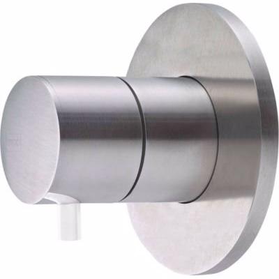 QTOO Compose C90 Grebssæt for termostat. for temp.reg, komplet udvendig designdele, matbørstet