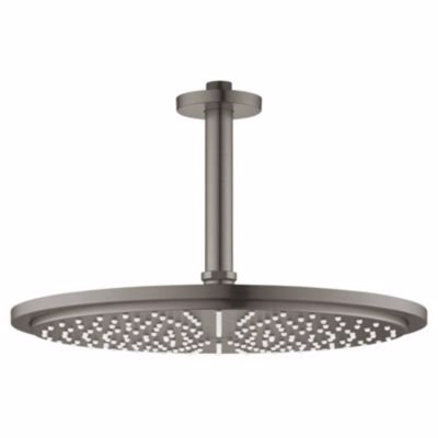 Image of   Grohe RSH Cosmopolitan 310 hovedbruser sæt, loft, 142mm, 1 spray, Børstet Hard Graphite
