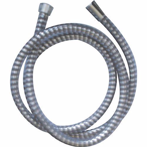 """Image of   Damixa Plast bruserslange 1500 mm 1/2"""". med drejbar omløber. Forkromet"""