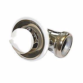 Image of   Karfa Bundventil 1.1/4 Til badekar & stål vaske. Uden overløb