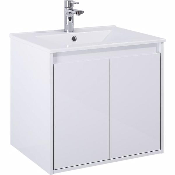 Image of   Alterna Domo håndvask. 61cm med hanehul & overløb