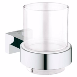 Grohe Essentials Cube glas med holder