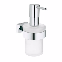 Grohe Essentials Cube sæbe dispenser med holder