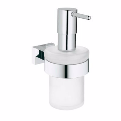 Image of   Grohe Essentials Cube sæbe dispenser med holder