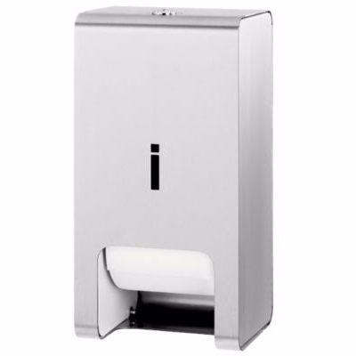 Image of   Juvel toiletpapirrulleholder til 2 ruller. Rustfri stål
