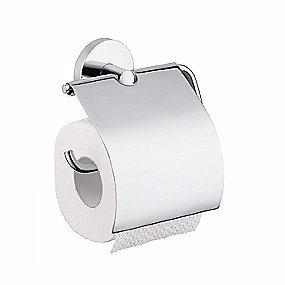 Image of   Hansgrohe Logis WC papirholder børstet nikkel