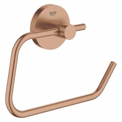 Image of   Grohe Essenceentials toiletrulleholder. Børstet Warm Sunset, uden låg