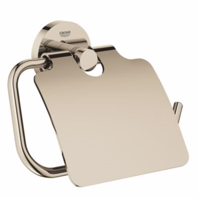 Image of   Grohe Essenceentials toiletrulleholder. Poleret Nikkel