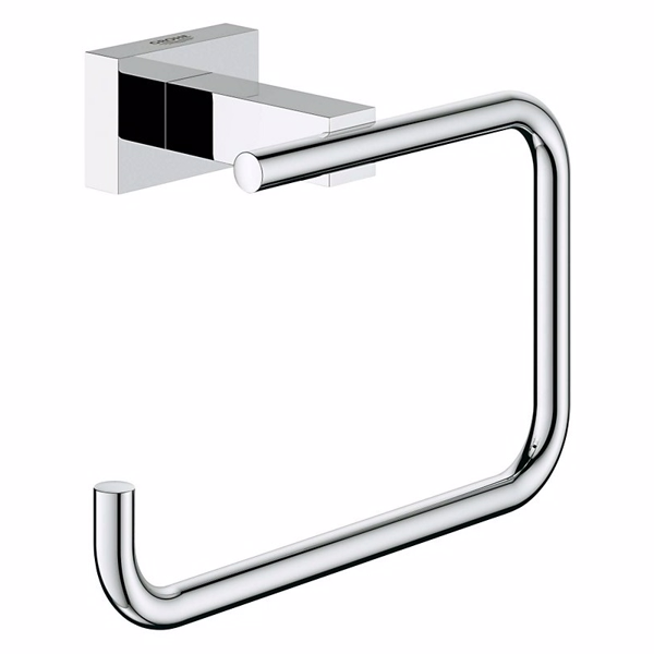 Image of   Grohe Essentials Cube toiletrulleh. toiletrulleholder uden låg
