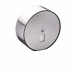 Image of   D line Maxi toiletrulleholder stål Ø308mm stålfront
