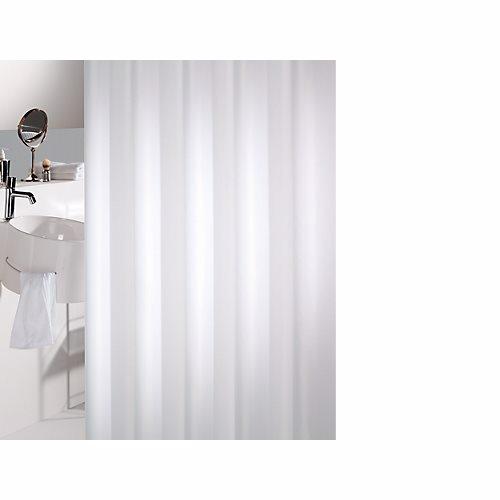 Image of   Badeforhæng Unicolor Miljø B:180 x H:200 cm, hvid