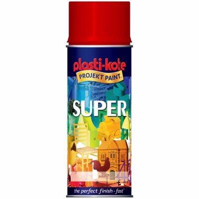 Image of   Borup Super Spraymaling Postrød 3020 - 400 ml