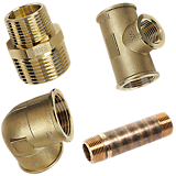 Siliciumbronze fittings